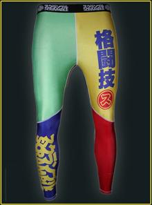 Scramble Rainbow Spats